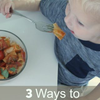 3 Ways to Simplify Mealtime