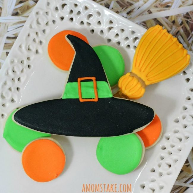 Witch Halloween Cookies 3ed