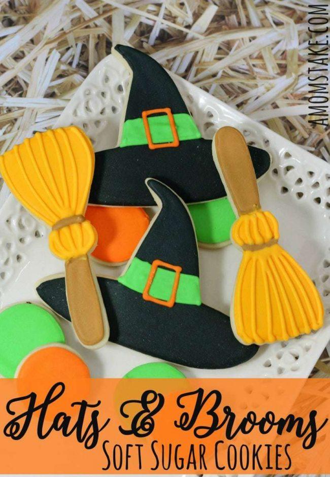 Witch Hats & Brooms Cookies edit