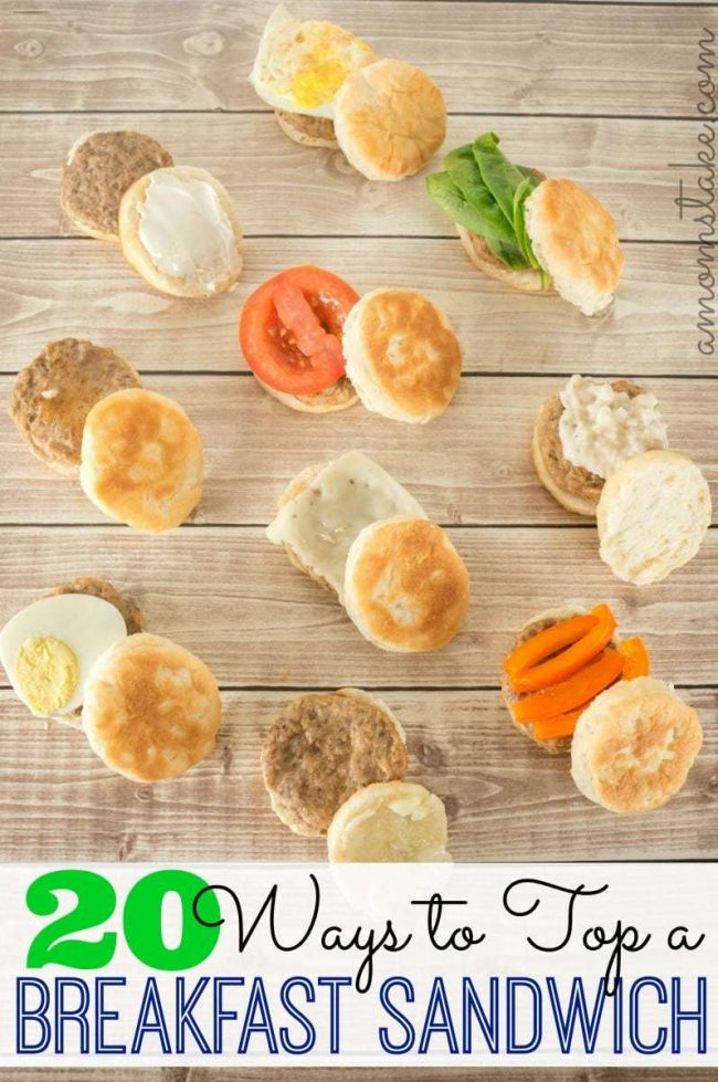 Ways to Top a Breakfast Sandwich