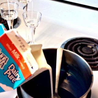 Homemade Milk Candles