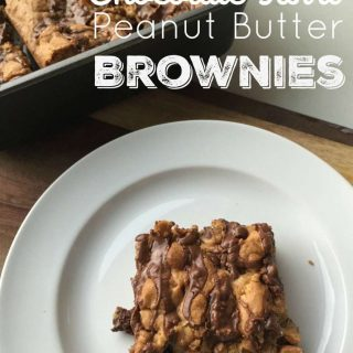 Chocolate Swirl Peanut Butter Brownies