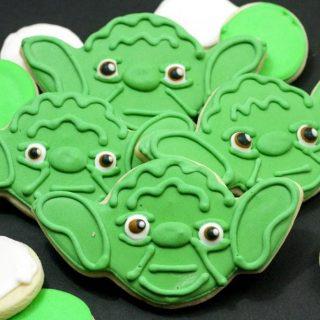 How to Make Star Wars Yoda Cookies