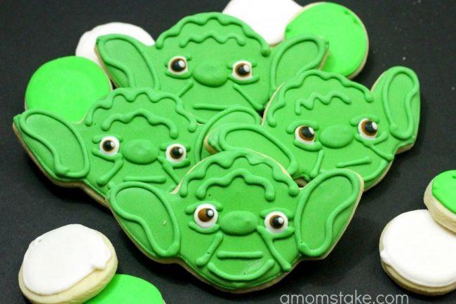 Yoda Cookies 1