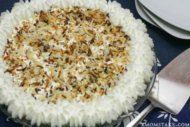 Coconut Cream Pie dessert