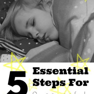 5 Essential Steps For Successful Toddler Bedtime