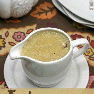 Homemade Turkey Gravy Recipe