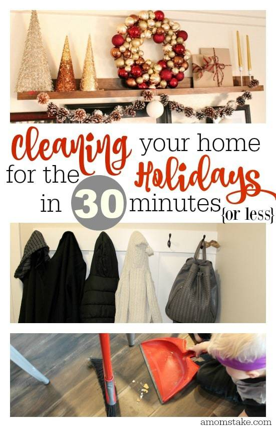 holiday cleaning
