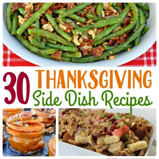 So many unique Thanksgiving side dishes to choose from - stuffing recipes, mashed potatoes, snacks and dips and more for your Thanksgiving feast!