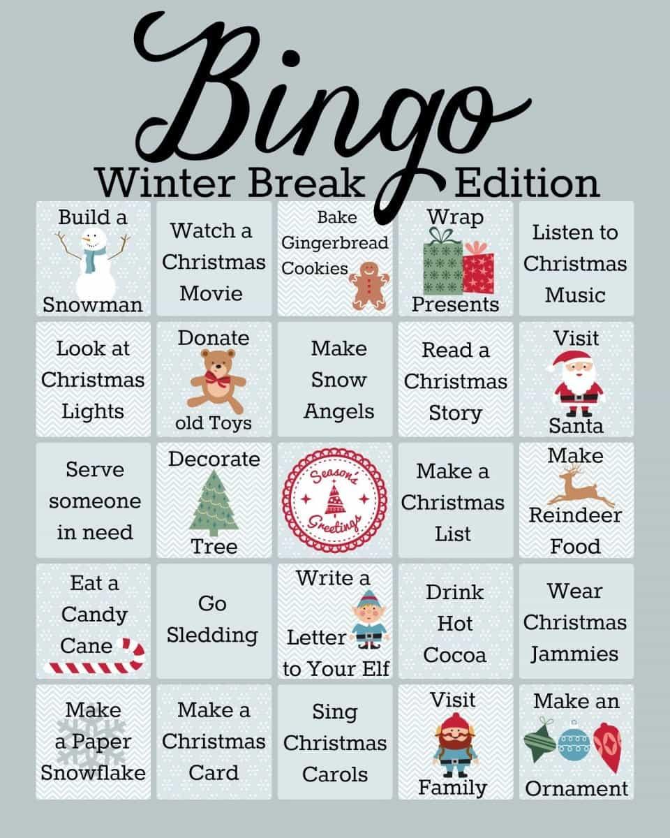 Take a break bingo lounge