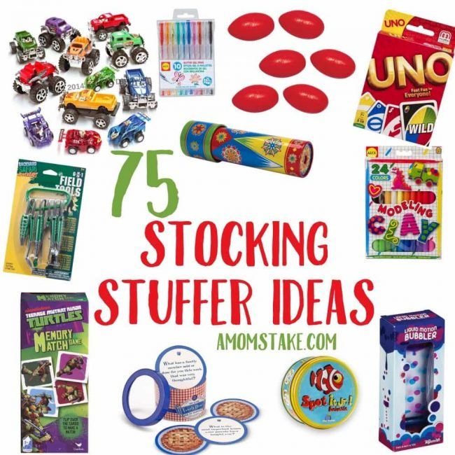 non candy christmas stocking stuffers great for kids tons of stuffer toys games