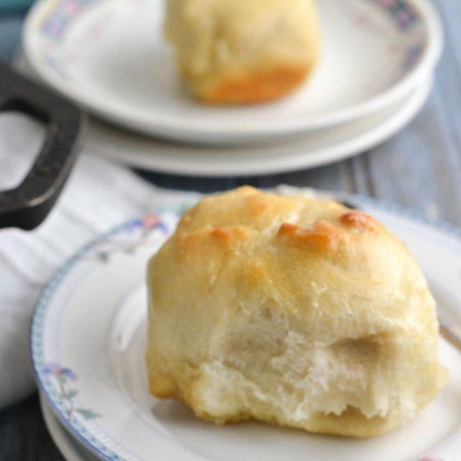 skillet butter rolls recipe