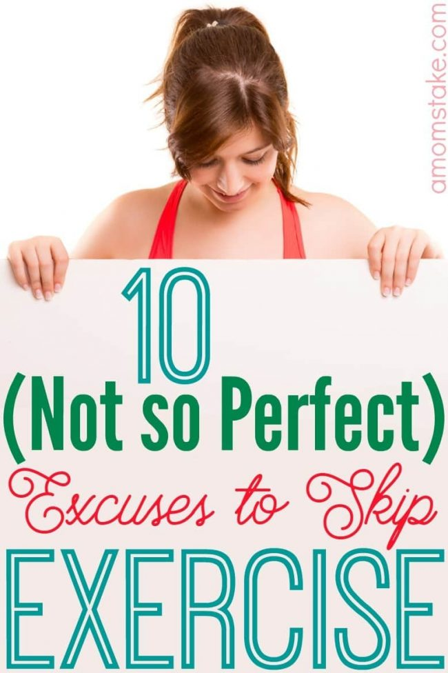 How many excuses have you dreamed up to skip exercise? We are tackling some of the common excuses to skip exercising and sharing motivation to stick to your fitness goals this year!
