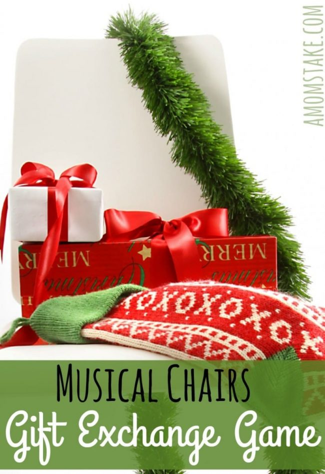 Musical Chairs Gift Exchange Game - A Mom\'s Take