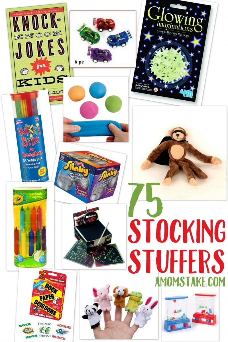 75 Stocking Stuffers Ideas for Kids (under $10!) - A Mom's ...