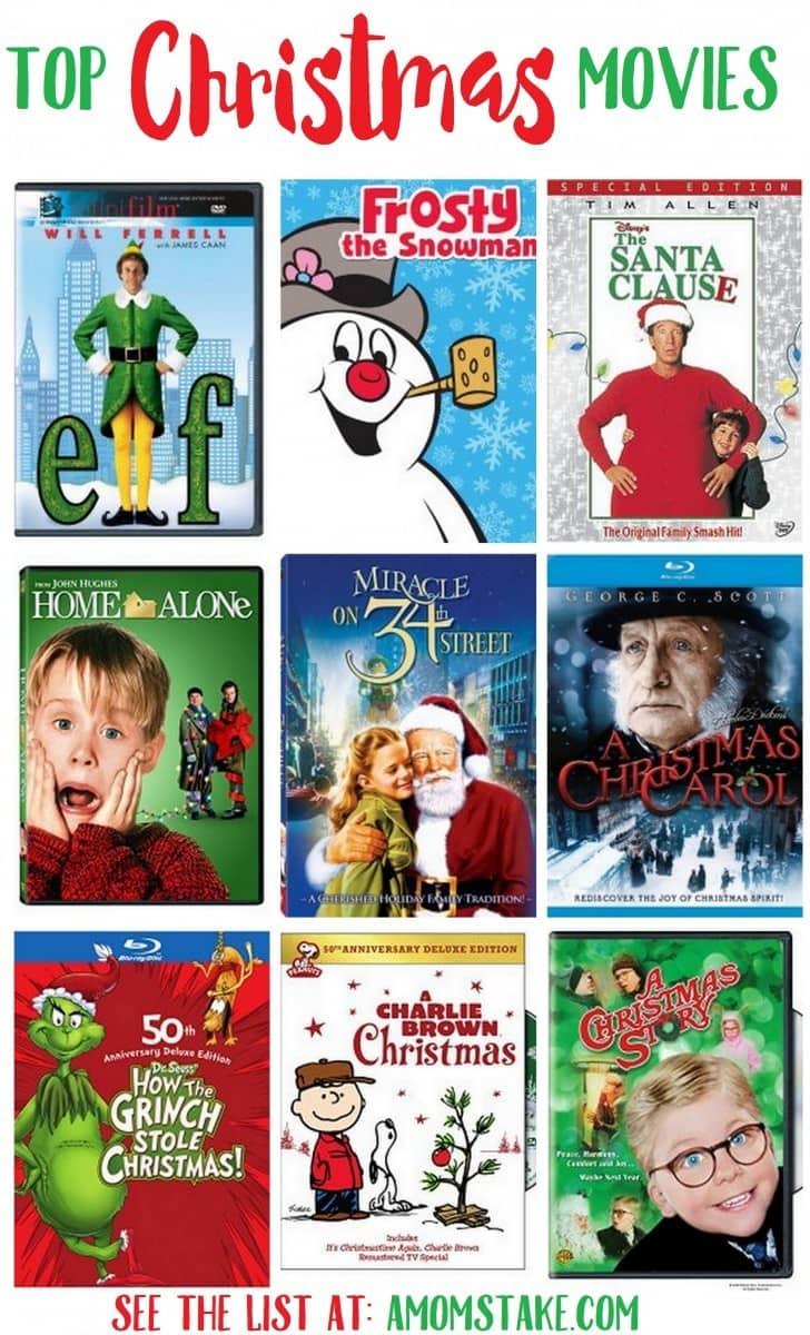 Top 25 Christmas Movies List A Mom 39 S Take