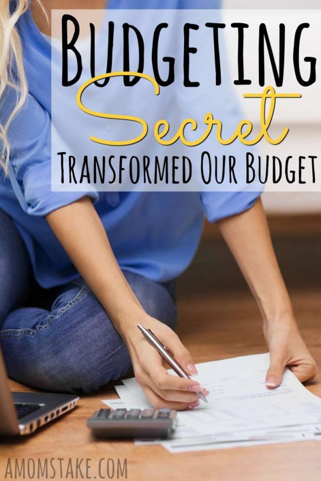 This simple one budgeting trick takes just 2 minutes to do (once) and will completely transform the way you budget forever!
