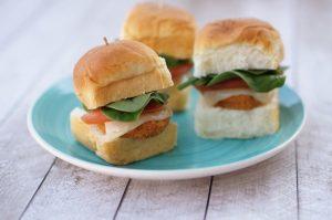 Chicken Nugget Sliders Appetizer