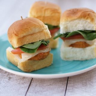Chicken Nugget Sliders Appetizer