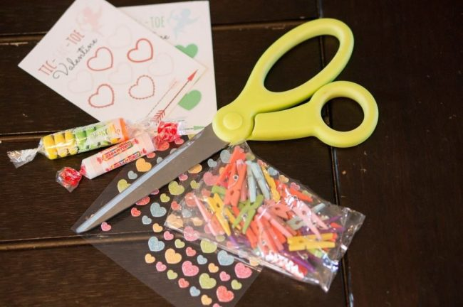 Tic Tac Toe Printable Valentine Supplies