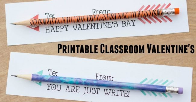Valentine Arrows Printables FB