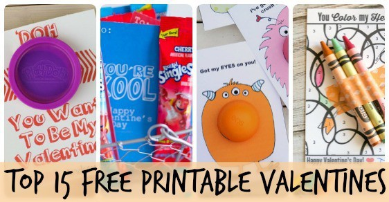 top 15 free printable valentines fb