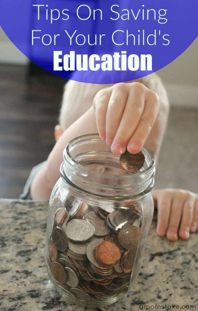 Saving for child's education