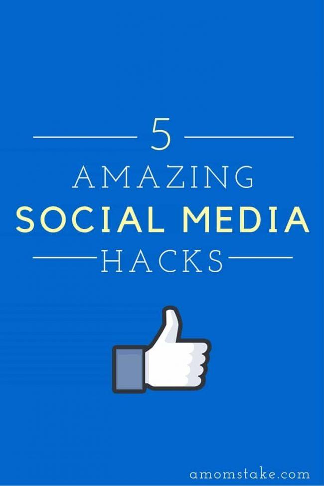 amazing social media hacks