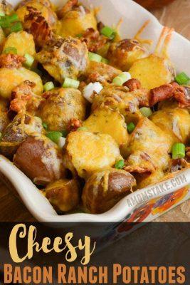 Cheesy Bacon Ranch Potatoes Recipe