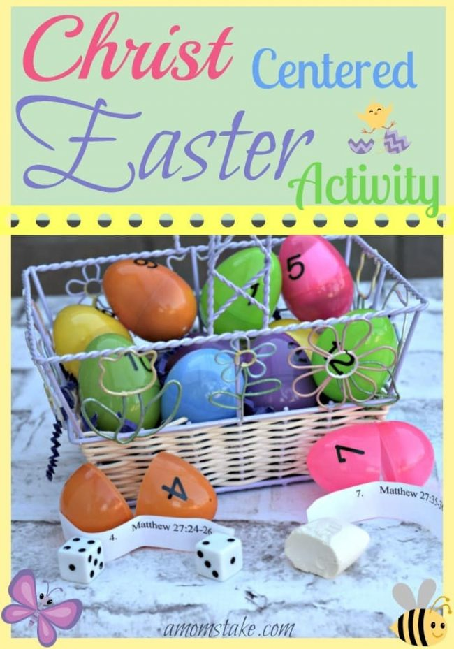 Keep Easter centered around Christ with this fun Easter activity for the whole family. Whether you have younger kids or older, they will all enjoy this activity for years to come.