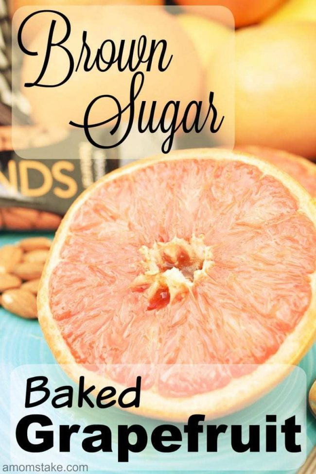 Brown Sugar Baked Grapefruit is the perfect morning breakfast idea. Start your morning with the warm taste of Wonderful Sweet Scarlett's Texas Red Grapefruit