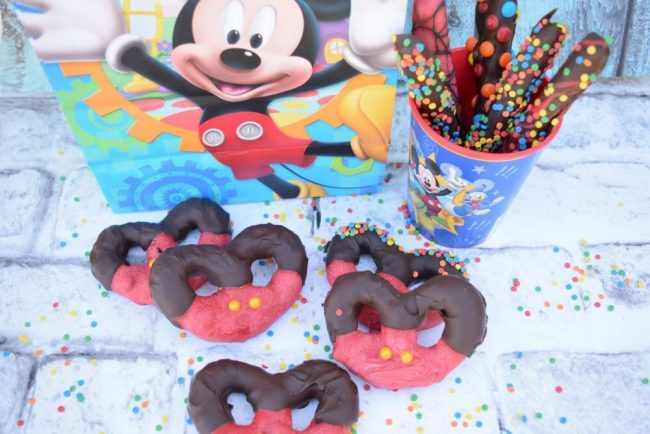 Look how cute these Mickey Mouse Pretzels turned out!