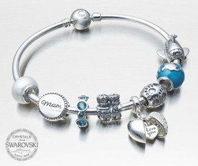 Swarovski's Chamilia jewelry is a beautiful personalized gift any woman would adore.