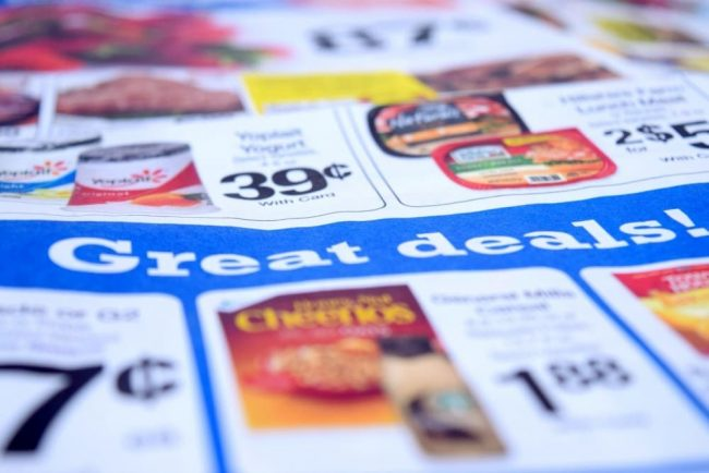 Shop the weekly grocery ads to save money