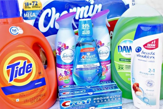 Stock up on the things your family uses the most during the stock up and save event at Walmart