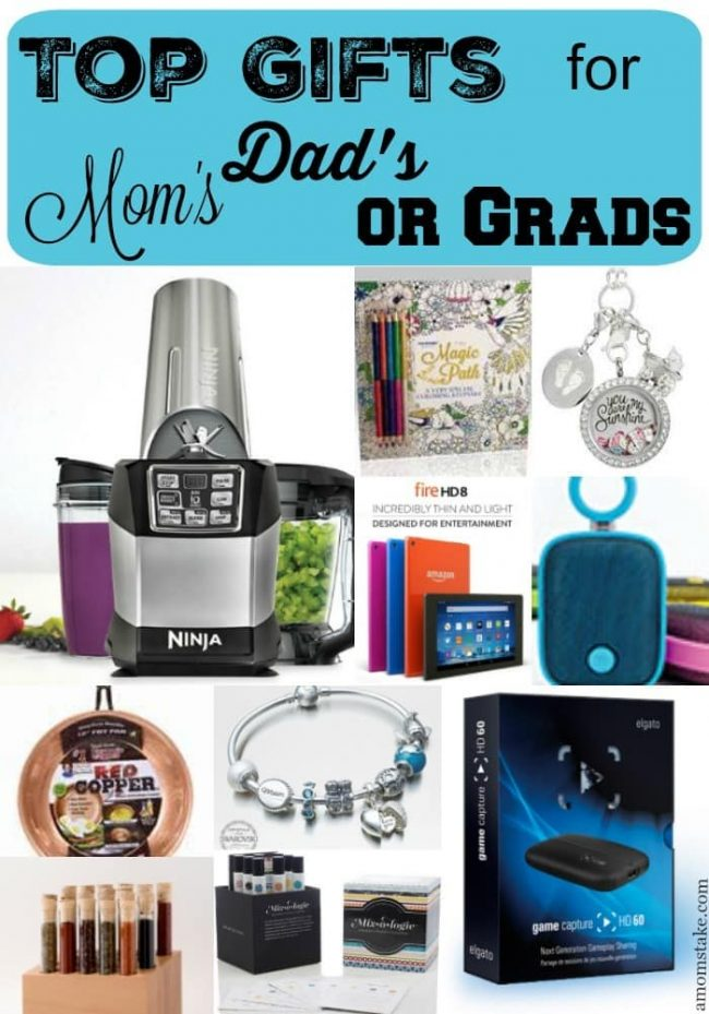 Some of the top gifts for Mother's Day, Father's day or for that recent graduation. Presents for all occasions.