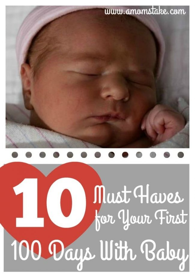 10 Must Haves For Baby A Mom S Take