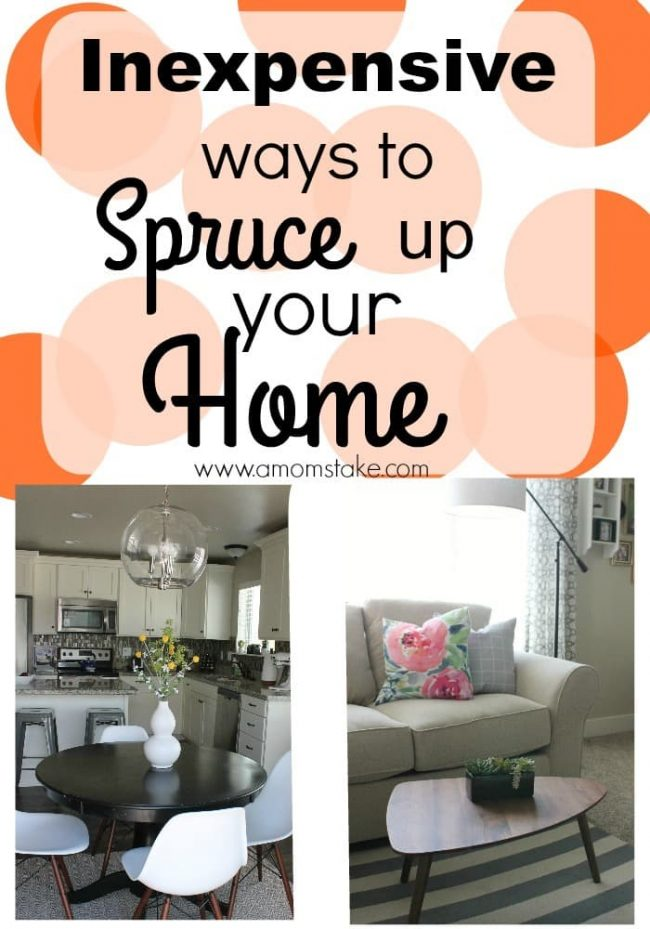 spruce up your home