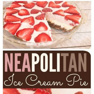 Neapolitan Ice Cream Pie Recipe