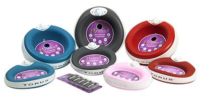 Torus dog bowl watering system is an easy way to make your dog's water portable.