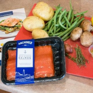 Chef Date Night from Home + Steakhouse Salmon Recipe