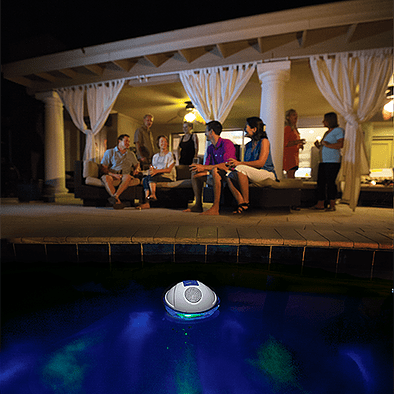 Have a fun pool party with a waterproof pool speaker