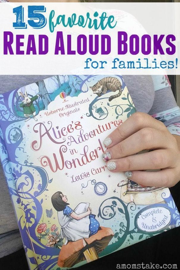 Reading aloud with your children can strengthen bonds, help you to reconnect or to talk about hard problems in life, and is a fun way to relax together. It's super important for their imagination, vocabulary, and critical thinking skills - too! We're sharing our very favorite read aloud books that are great to read together as a family.
