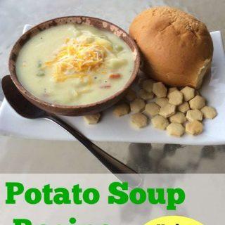3-Ingredient Easy Potato Soup Recipe