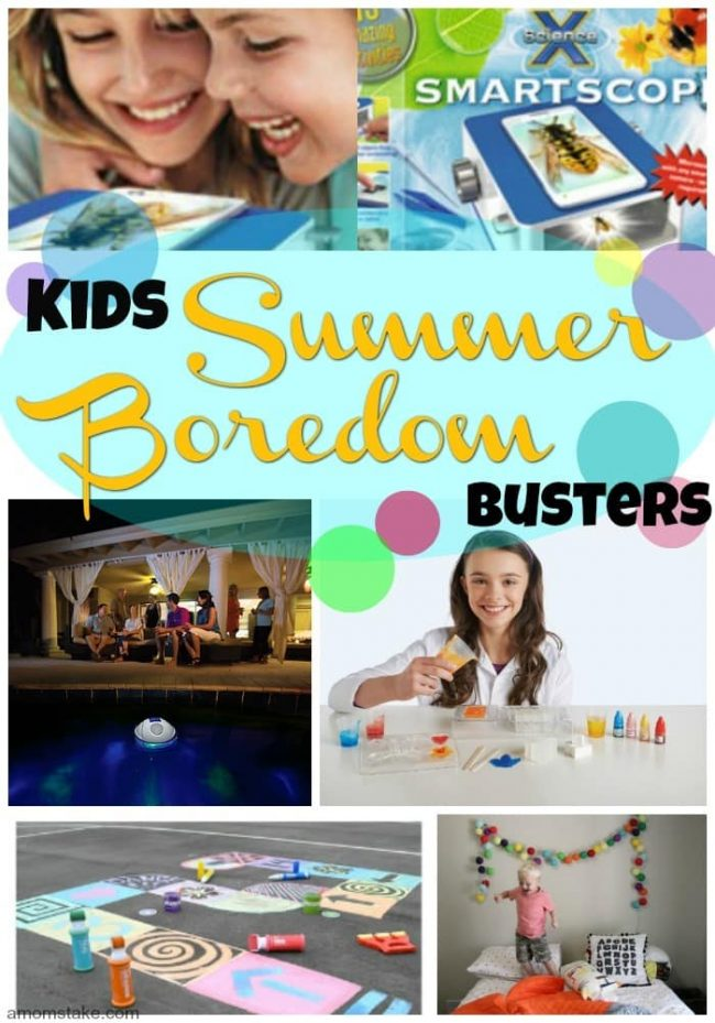 "Oh those dreaded words ""I'm bored"" It's the worst part of summer. Keep your kids busy learning and having fun with these summer boredom busters."