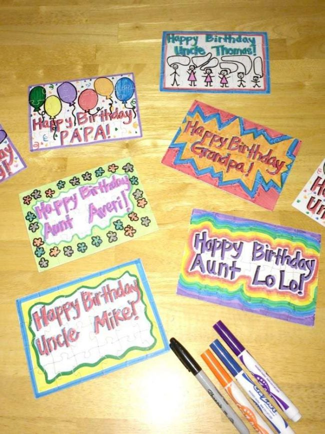 3 Unique Diy Birthday Cards That Are More Than Just A Card A Mom S Take