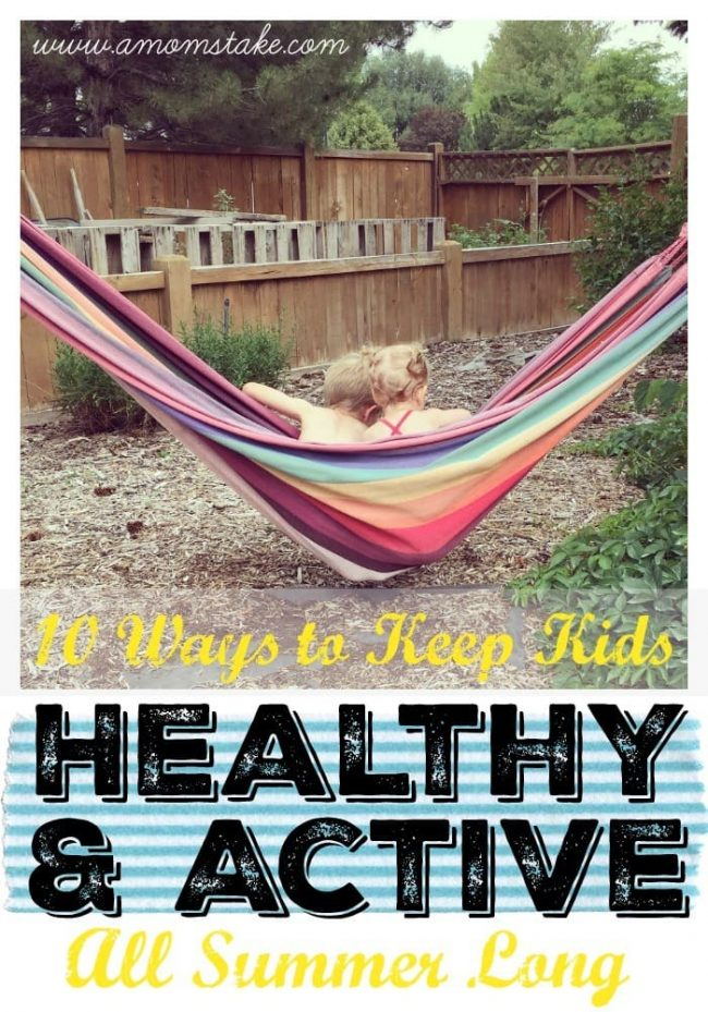 healthy and active summer