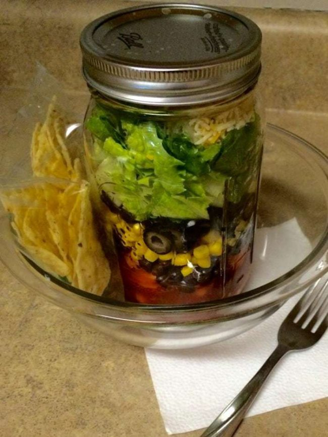 So easy! I love salads in a mason jar as they are quick and perfect on the go - and they help me eat healthier all summer! Three yummy salad recipes included making lunch a snap!