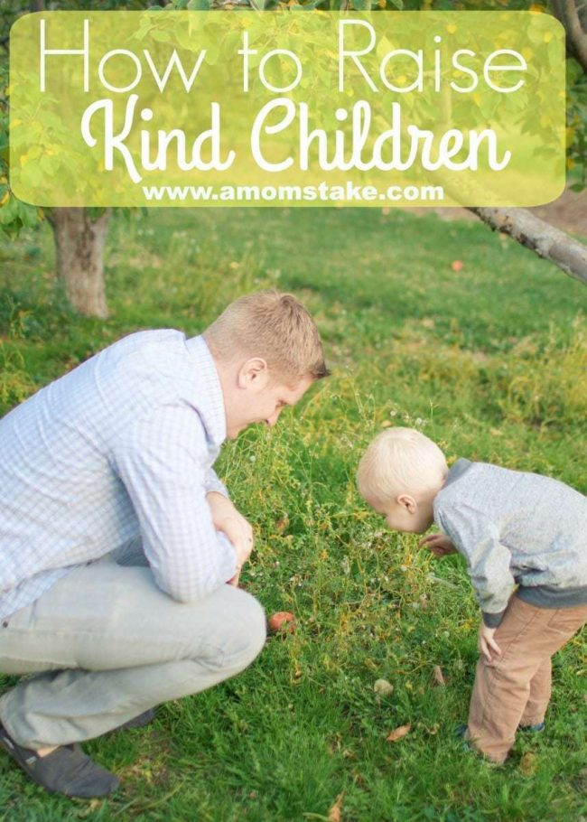 How to Raise Kind Children from A Mom's Take. Learn how to raise children who will make a difference in the world. Start in the home with these great tips on raising kind children.