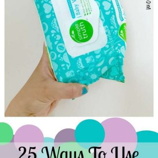 25 Ways to Use Baby Wipes #simpletruthbaby